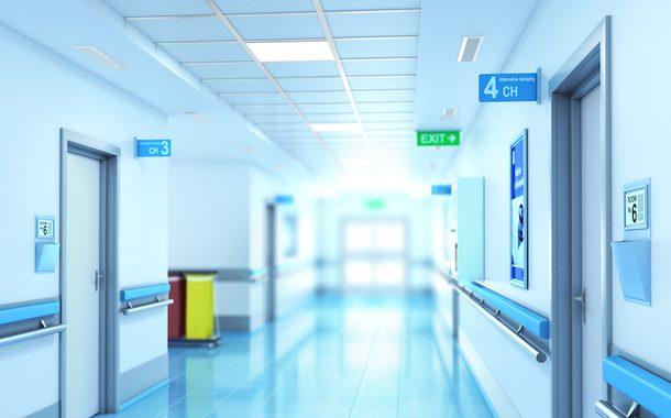 Hospital, Clinic, Corridor