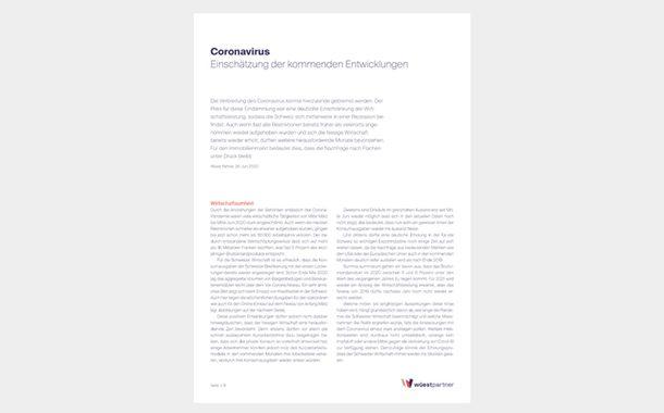 Coronavirus, Publikation
