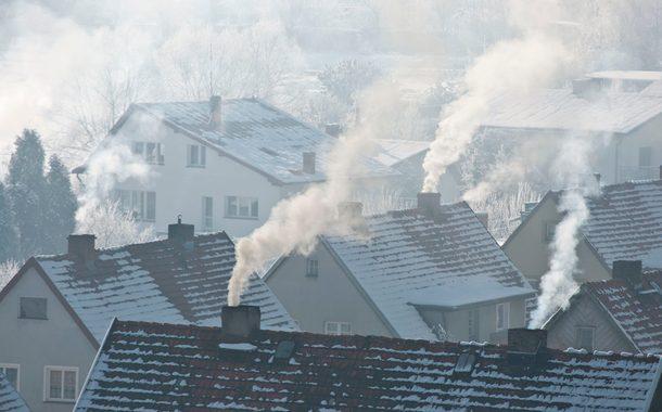 Smoke, Pollution, Building